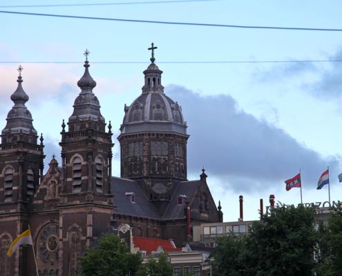 Basilika St Nikolaus, Amsterdam, Holland, Niederlande