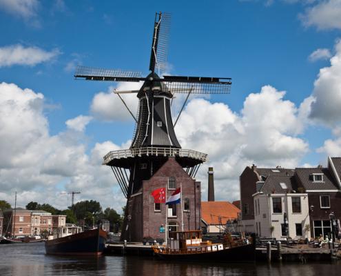 Windmühle De Adriaan, Holland, Niederlande