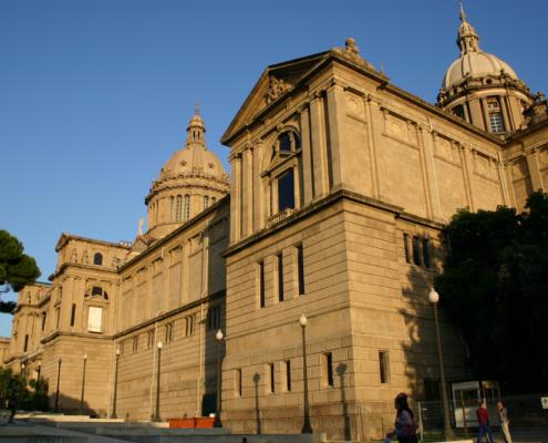 Nationales Kunstmuseum, Barcelona, Spanien