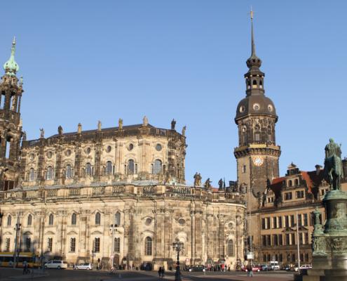 Hofkirche & Schloss, Dresden