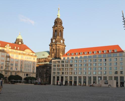 Kreuzkirche & Altmarkt, Dresden
