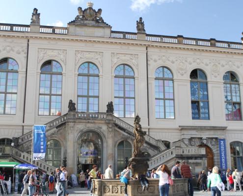 Verkehrsmuseum & Friedensbrunnen, Dresden