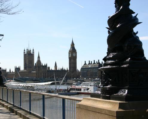 Big Ben & Palace of Westminster, London