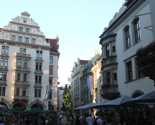 Platzl & Hofbräuhaus, München