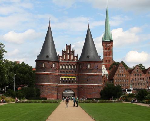 Holstentor, Lübeck, Ostsee