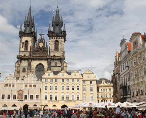 Altstädter Ring & Teynkirche, Prag