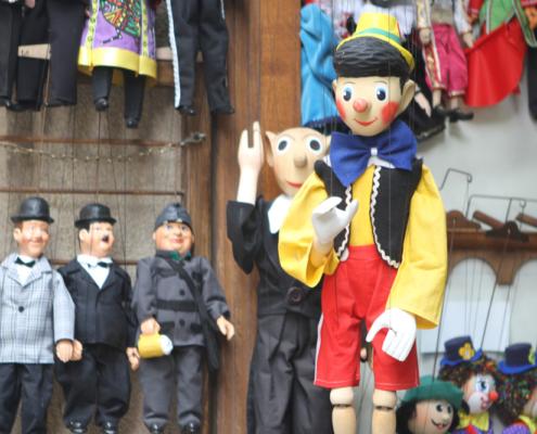 Marionettenshop, Prag