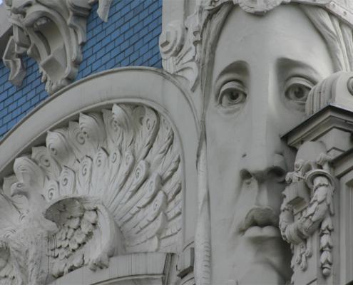 Art Nouveau Building, Riga, Lettland