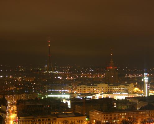 Blick vom Radisson Blu Spa, Riga, Lettland