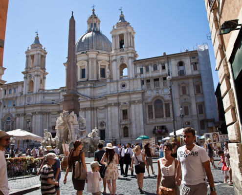 Piazza Navona, Rom, Italien