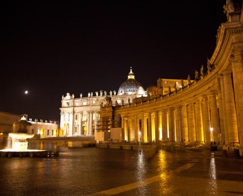 Petersplatz, Vatikan, Rom, Italien