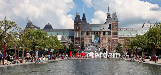 Rijksmuseum, Amsterdam, Holland, Niederlande