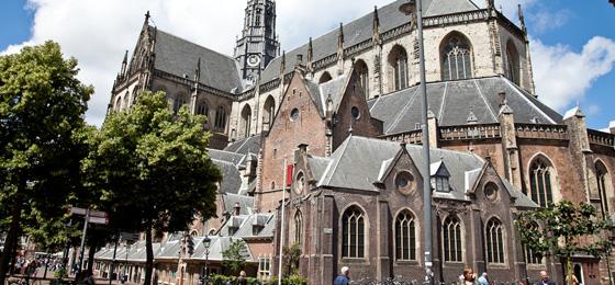 St.-Bavo-Kirche, Haarlem, Holland, Niederlande