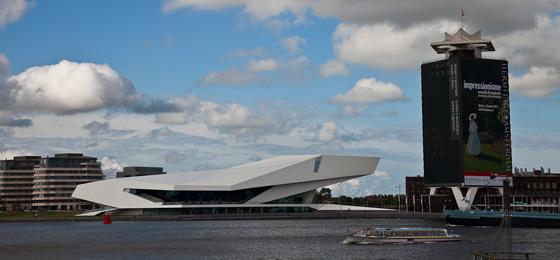 Eye Filmmuseum, Amsterdam, Holland, Niederlande