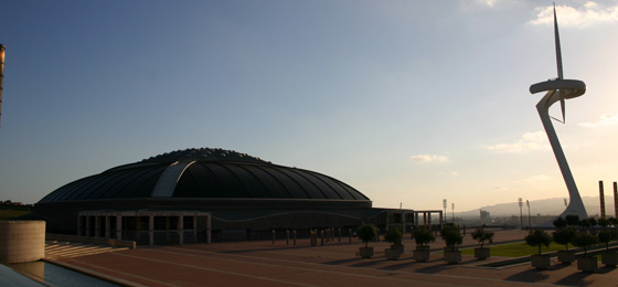 Olympiagelände, Barcelona, Spanien