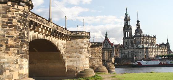 Augustusbrücke & Hofkirche, Dresden