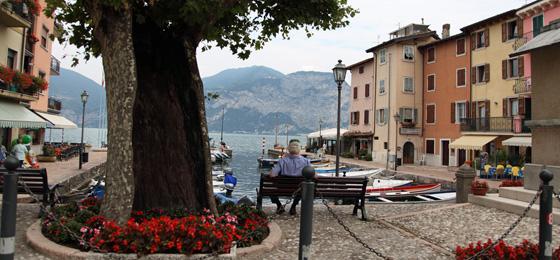 Porto Di Brenzone, Gardasee, Italien