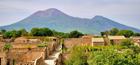 Pompei & Vesuv, Neapel, Italien