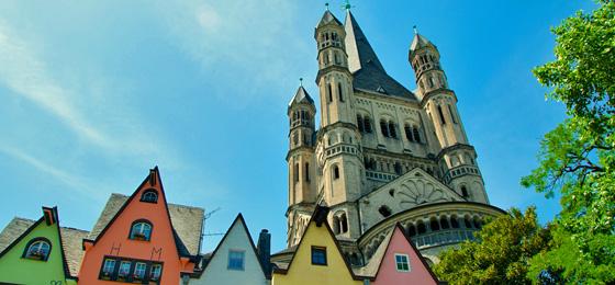 Kirche Groß St. Martin, Köln