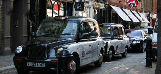 Black Cabs, London