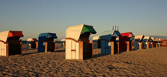 Strandkörbe, Ostsee
