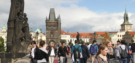 Karlsbrücke & Brückenturm, Prag