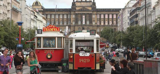 Wenzelsplatz, Prag