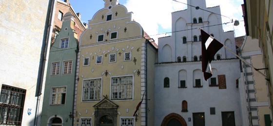 Drei Brüder, Riga, Lettland