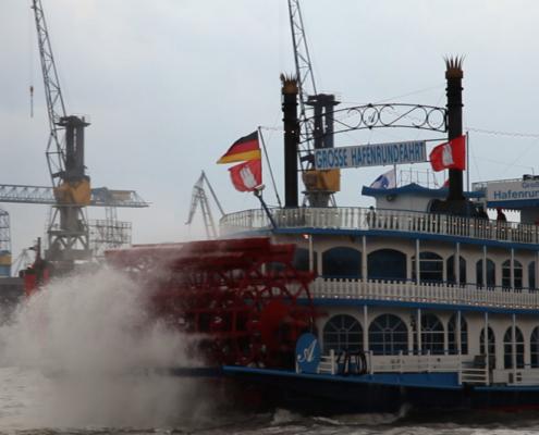 MS Louisiana Star, Hafenrundfahrt, Hamburg