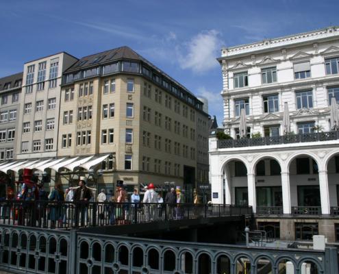 Alsterarkaden, Hamburg