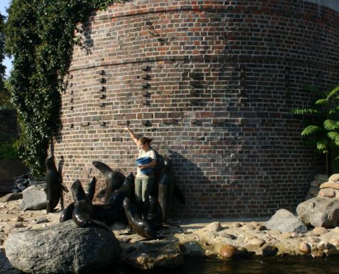 Zoo - Fütterung, Leipzig
