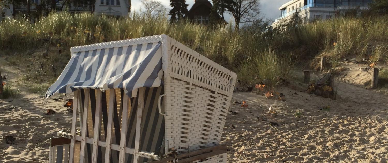 Strandkorb, Usedom, Ostsee