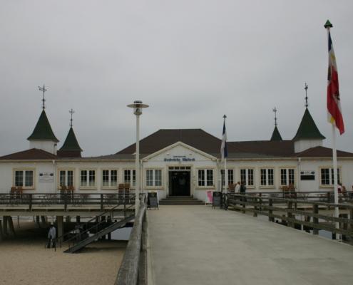 Seebrücke Ahlbeck, Usedom, Ostsee