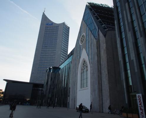 MDR und Universität, Leipzig