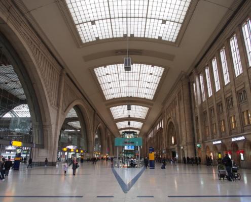 Hauptbahnhof, Leipzig
