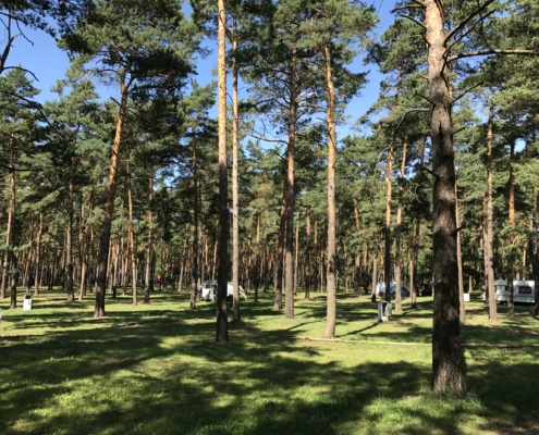 Camping am Helenesee